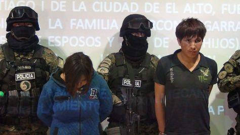 Imagen de la pareja de sospechosos del triple asesinato en El Alto. Foto: @MindeGobierno