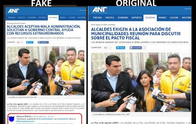 ANF denuncia uso de su sigla y su imagen para difundir información falsa
