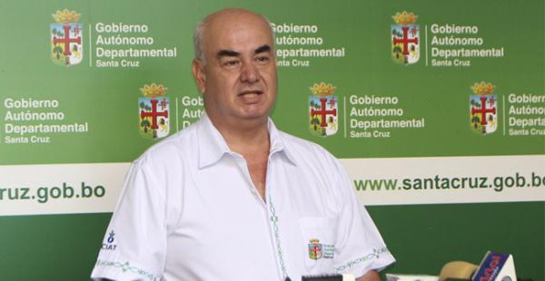 José Luis Parada dijo que Santa Cruz recibirá el 11% de la producción que genere el megacampo Incahuasi