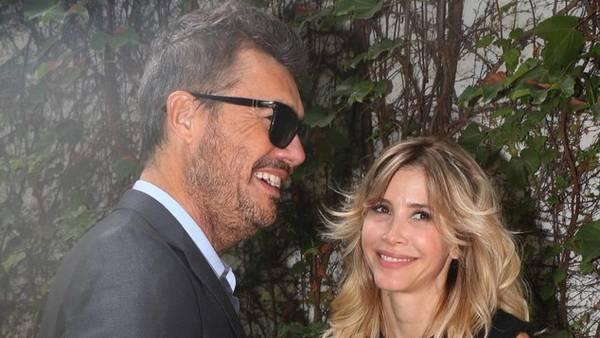 Tinelli y Valdes a los besos en la apertura del BAFWeek.