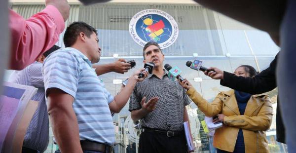 El fiscal confirmó la inasistencia de Saúl Rosas