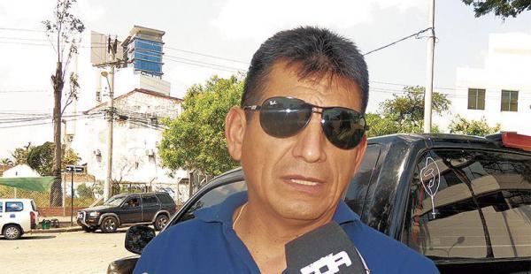 Juan Carlos Ramos, de la Felcc
