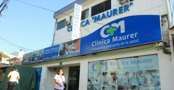 Luego de ser herida la mujer fue llevada hasta la clínica Maurer, lugar en el que se recupera