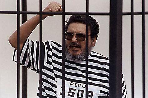 Abimael Guzmán cumple su condena en la prisión de la Base Naval del Callao. Foto: Internet