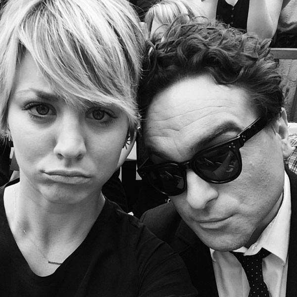 Kaley Cuoco, Johnny Galecki