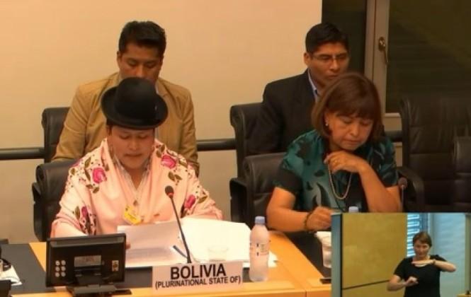 NNUU cuestiona al Gobierno de Bolivia por la represión a discapacitados y pide un compromiso para escucharlos