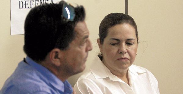 Érika Banzer, la hija del fallecido presidente Hugo Banzer, está con arraigo desde abril del año pasado. Pagó una fianza de Bs 500.000
