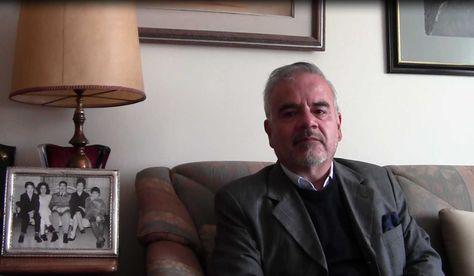 Juan José Torres durante la entrevista con La Razón. Foto: Micaela Villa