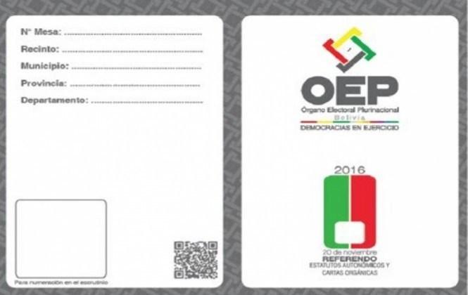 Incorporan idioma originario y la numeración en papeletas electorales para referendos