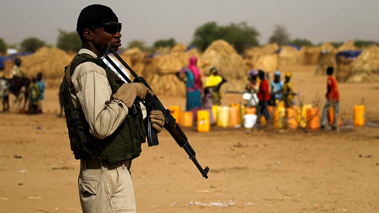 Un soldado nigeriano, 18 de junio de 2016