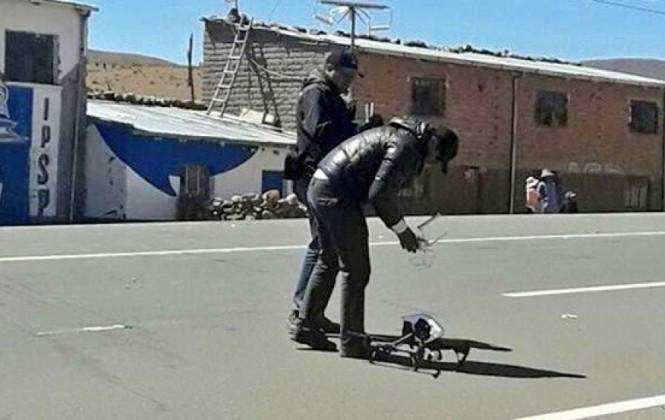 Informan que el dron del Ministerio de Gobierno captó a los asesinos del viceministro Illanes