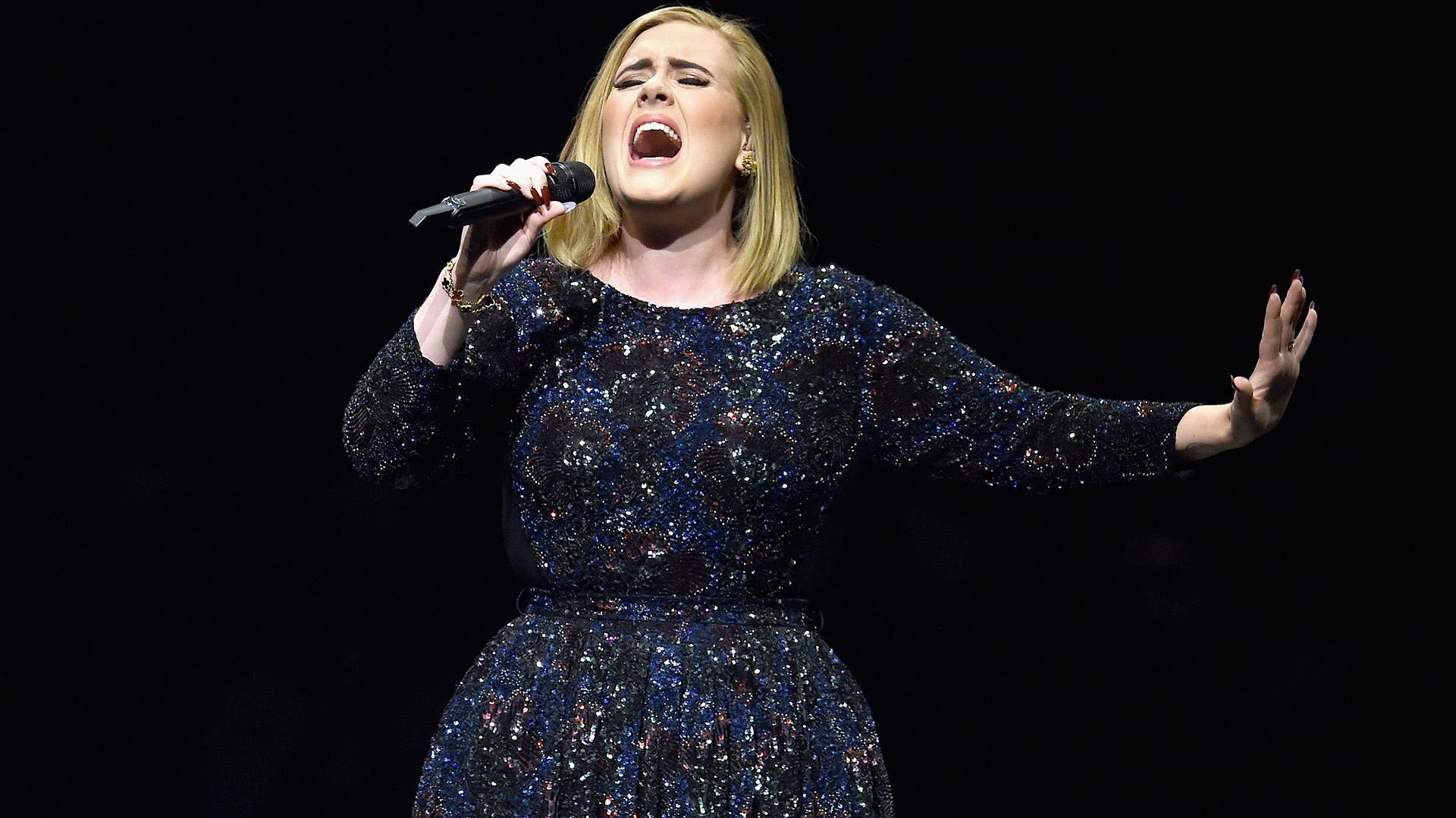 Adele no cantará en el medio tiempo del Super Bowl 2017 (AFP)