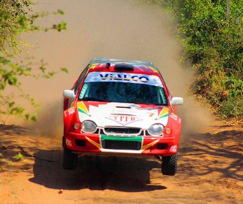 El coche de Marco Bulacia, el piloto que a sus 15 años es campeón nacional.