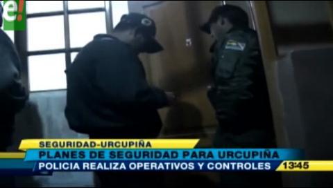 Policía implementa plan de seguridad para la fiesta de Urkupiña