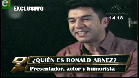 ¿Quién es Ronald Arnez  el nuevo conductor de Calle 7?
