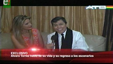 Álvaro Torres el ícono de la música romántica latinoamericana quiere volver a Bolivia