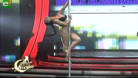 El baile del tubo que faltaba en el Bailando