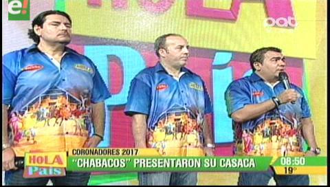 Los Chabacos presentaron su primera casaca carnavalera