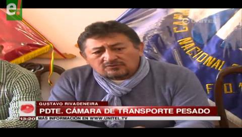 Transporte Pesado registra pérdidas de casi 10 millones de dólares por bloqueos