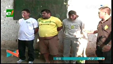 Dos ex reclusos eran parte de una banda de auteros