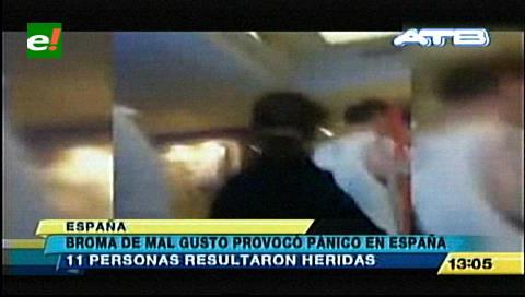 Llantos, desmayos y golpes por una broma de turistas alemanas en España