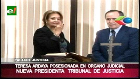 Teresa Lourdes Ardaya es la nueva presidenta del TDJ de Santa Cruz