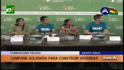 Techo Bolivia lanza campaña para construir 60 casas