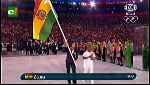 Bolivia presente con 12 atletas en la inauguración de los Juegos Olímpicos de Río