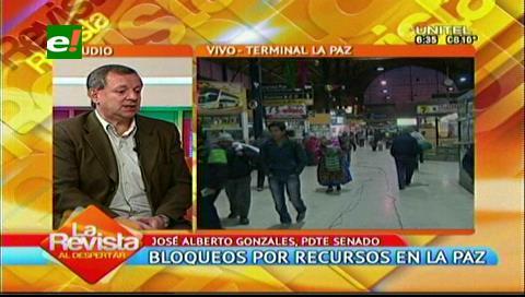 Senador Gonzáles desmiente que norma afecte a cooperativas mineras
