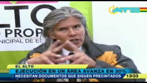 Proyectos de desarrollo humano en El Alto tienen baja ejecución