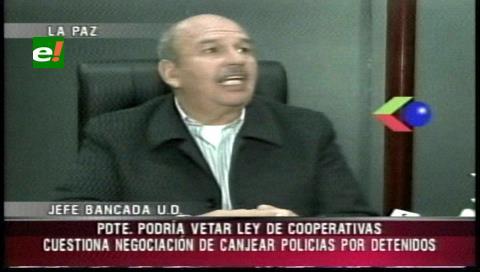 "Senador Murillo condena negociación con cooperativistas ""secuestradores"" de 40 policías"
