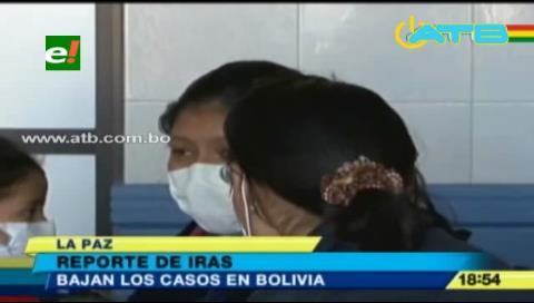 Disminuyeron los casos enfermedades respiratorias en el país