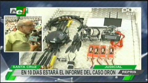 Landivar: En 10 días estará el informe del caso dron