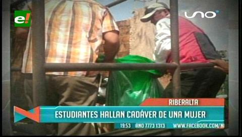 Encuentran el cadáver de una mujer en Riberalta