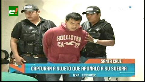 Capturan a sujeto que agredió a su suegra