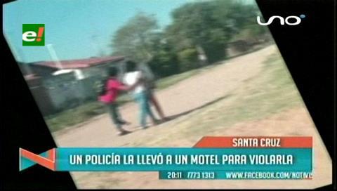 Denuncian que policía intentó violar a una menor en un motel