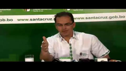 Gobernación cruceña denuncia que ingresos por el Incahuasi no está contemplada en el POA del 2017