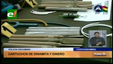 La Policía decomisa dinamita a los mineros