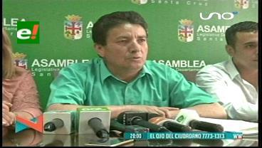 ALD de Santa Cruz denuncia recorte de presupuesto para el 2017