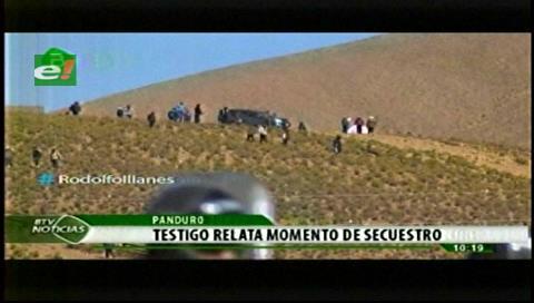 Testigo relata el momento del secuestro al viceministro Illanes