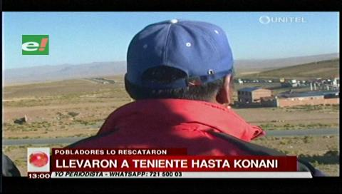 Dirigente campesino relata cómo rescataron al edecán del viceministro Illanes