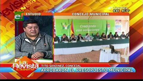 Santa Cruz: 54% del nuevo POA municipal será para desarrollo humano