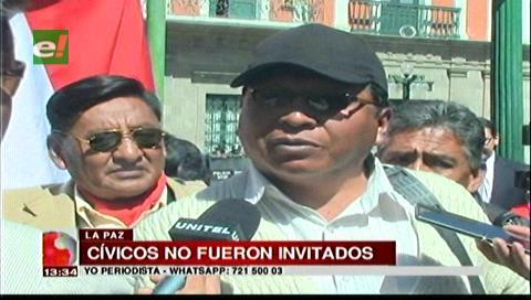 Cívicos de Potosí afirman que debieron ser parte del debate por Pacto Fiscal