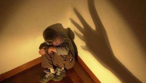 Un niño víctima de agresión física. Foto: internet