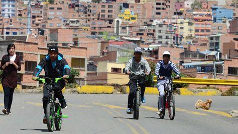 Día del Peatón 2015 en La Paz. Foto: La Razón