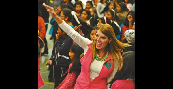 Maricruz Ribera aseguró que en   su programa        de autoestima atendió a 8.330 niñas