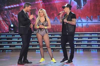 showmatch 2016 Marcelo Tinelli Charllotte Caniggia