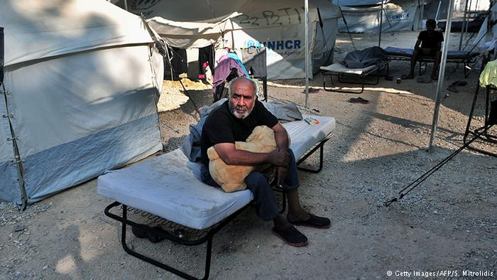 Griechenland Flüchtlingsunterkünfte in Lagadikia