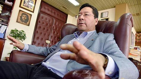 El ministro de Economía y Finanzas, Luis Arce