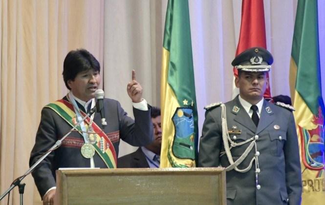 Evo felicita a Cochabamba y se disculpa por retirarse de actos protocolares